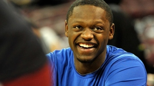 Big man Julius Randle is enjoying the moment.